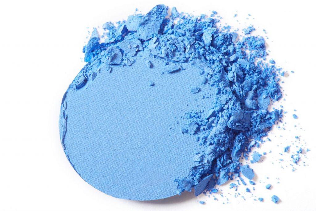 Embarrassing Beauty Trend Blue Eyeshadow