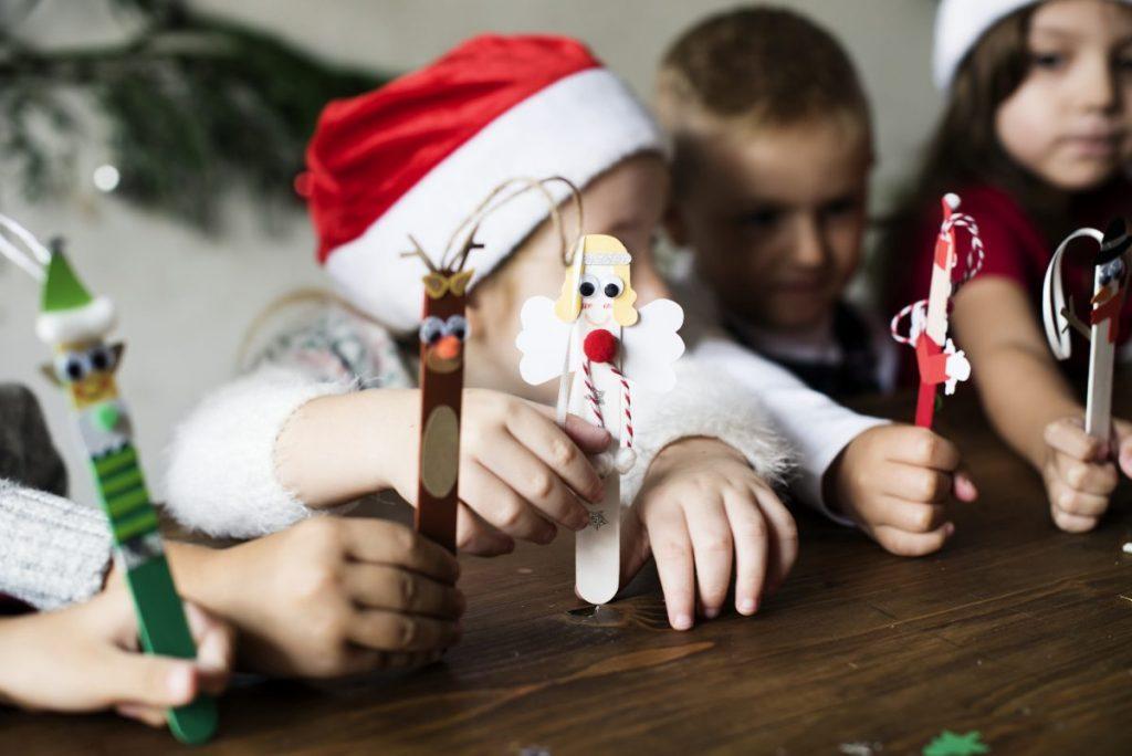 children popsicle ornaments