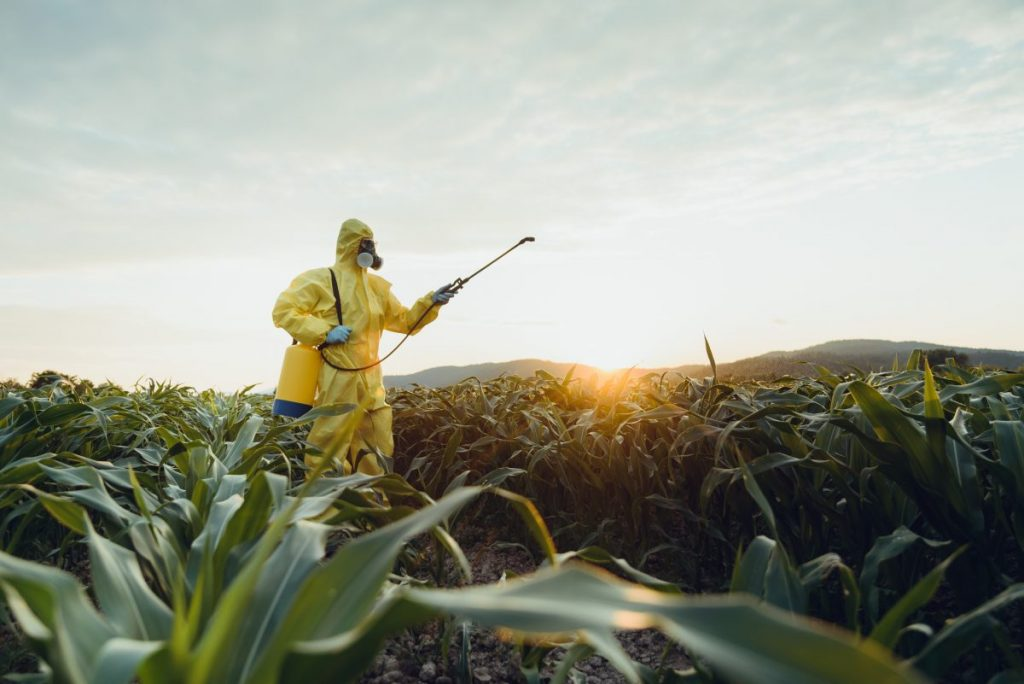 weed killer infection exposure