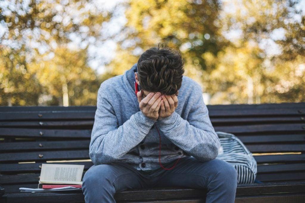 stressors diagnoses trauma male