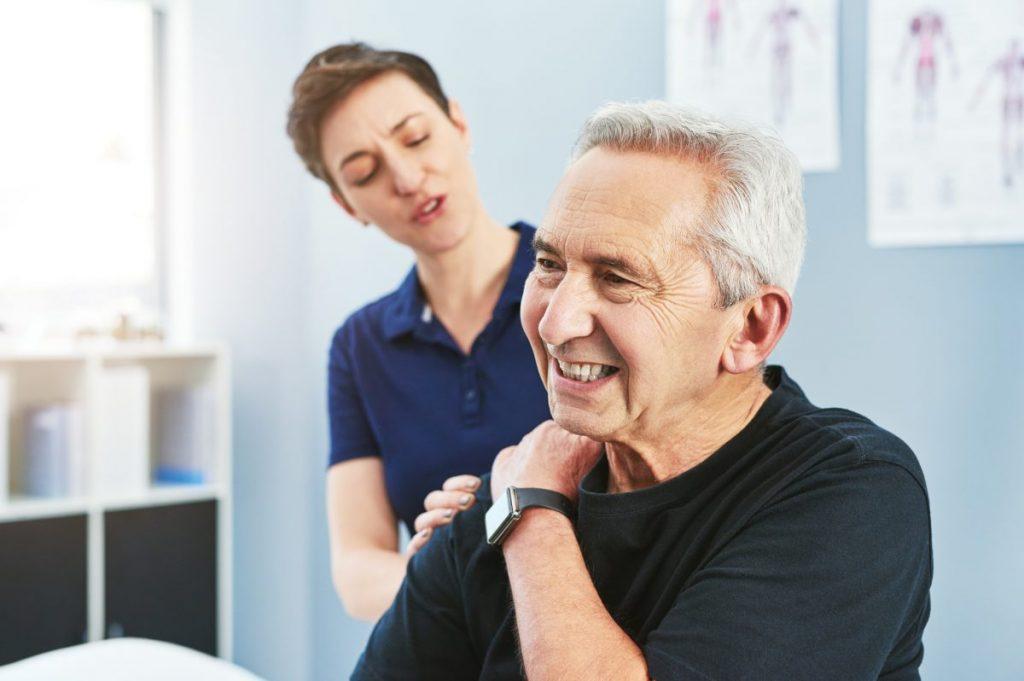 Kehrs sign shoulder pain laceration