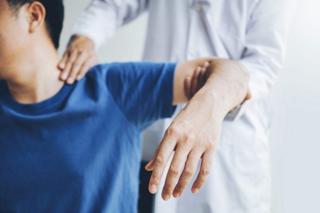 shoulder pain consultation