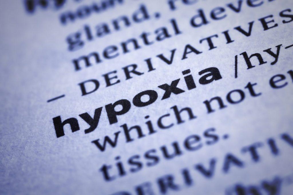Respiratory alkalosis hyperventilation hypoxia