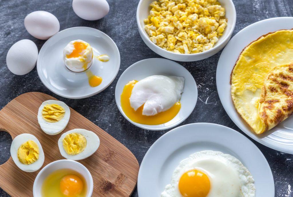 Eggs Cooked Breakfast