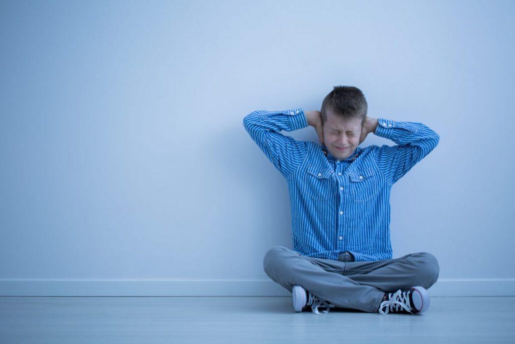 frustration echolalia depression anxiety