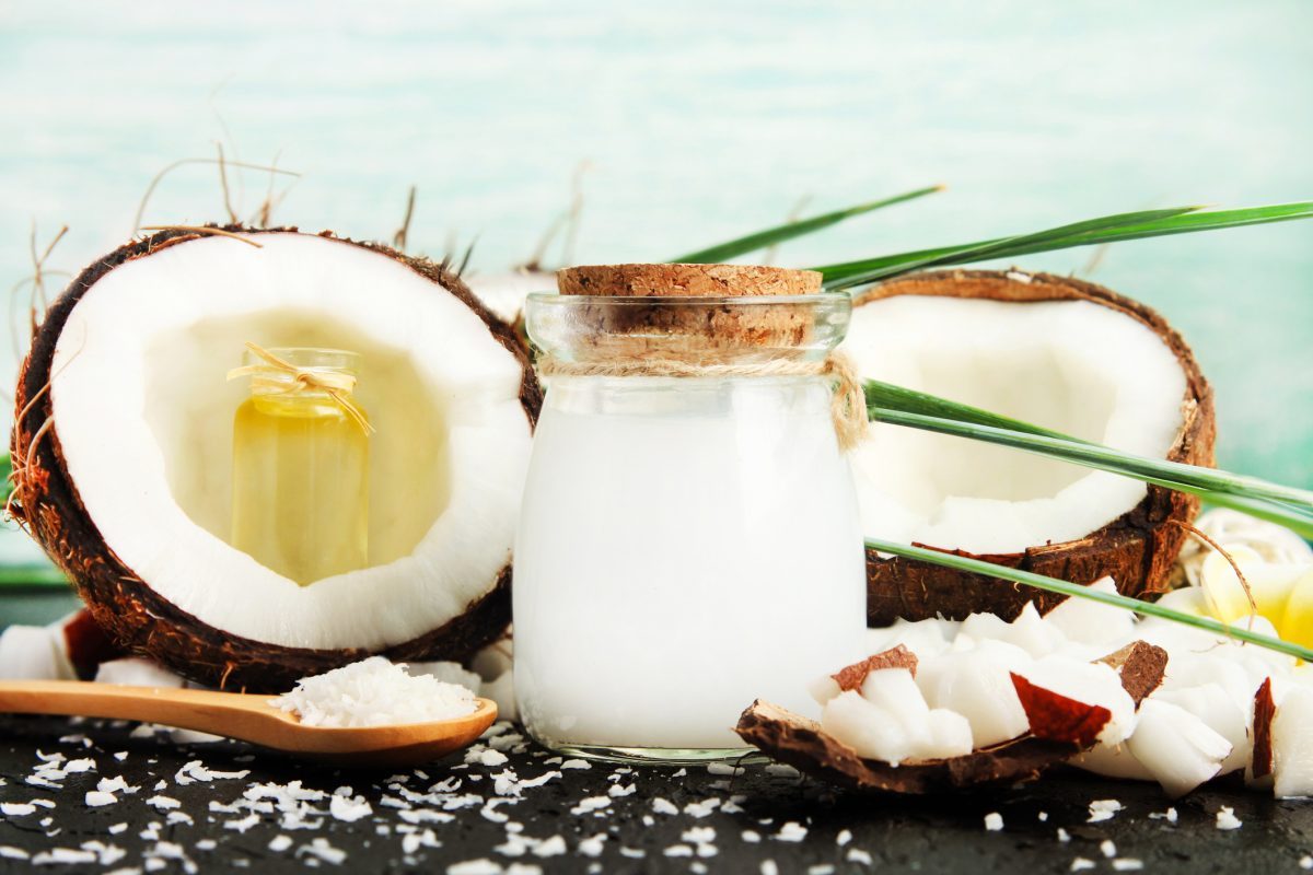 coconut oil milk