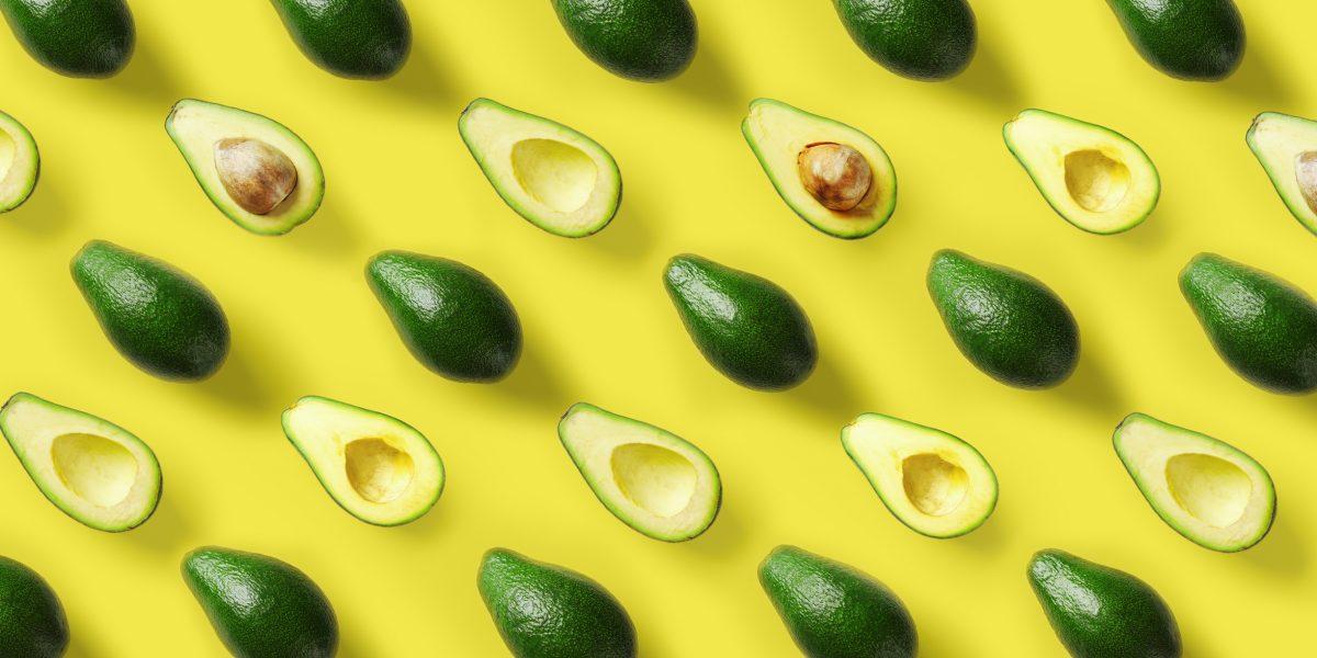 avocado halves whole