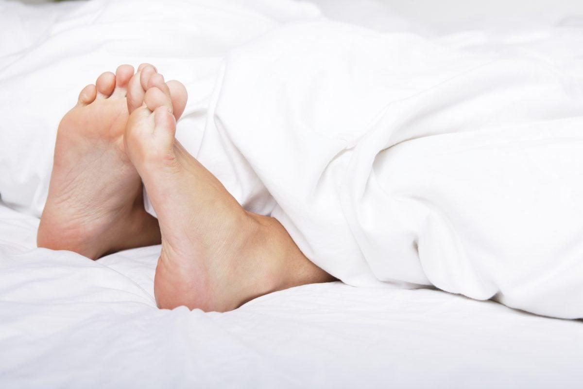 wiggle toes wake up