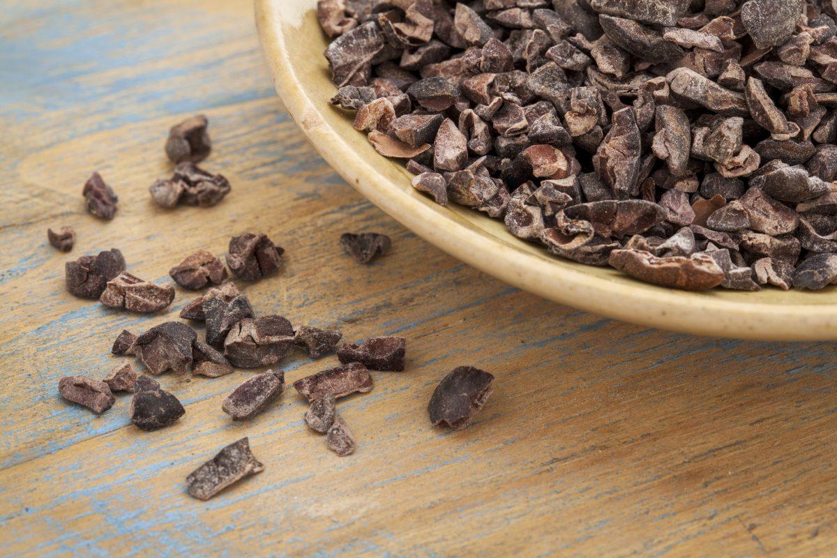 Cocoa nibs have minimal processing