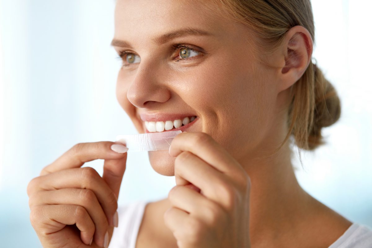 teeth whitening strip