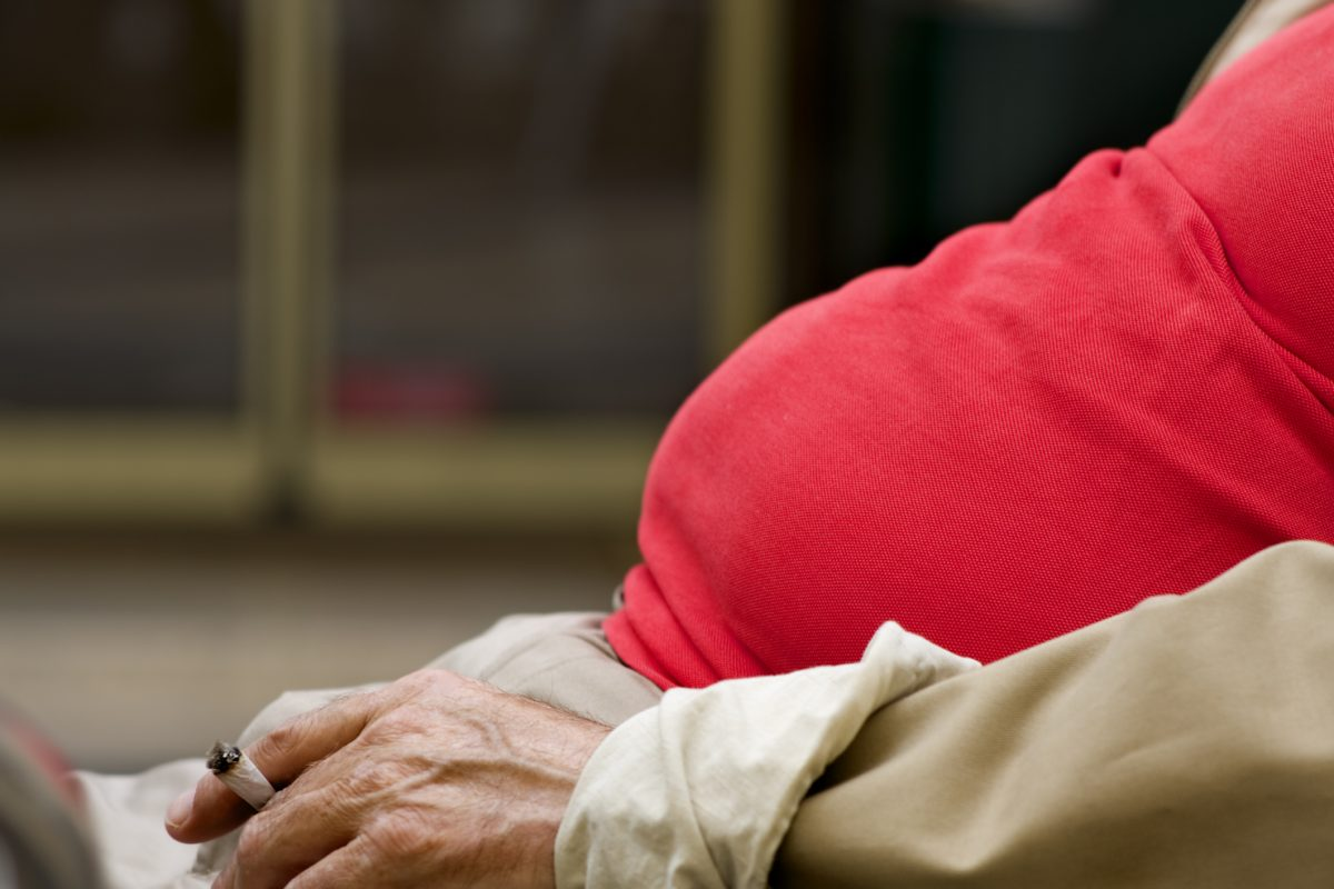 Overweight Smoker Risks