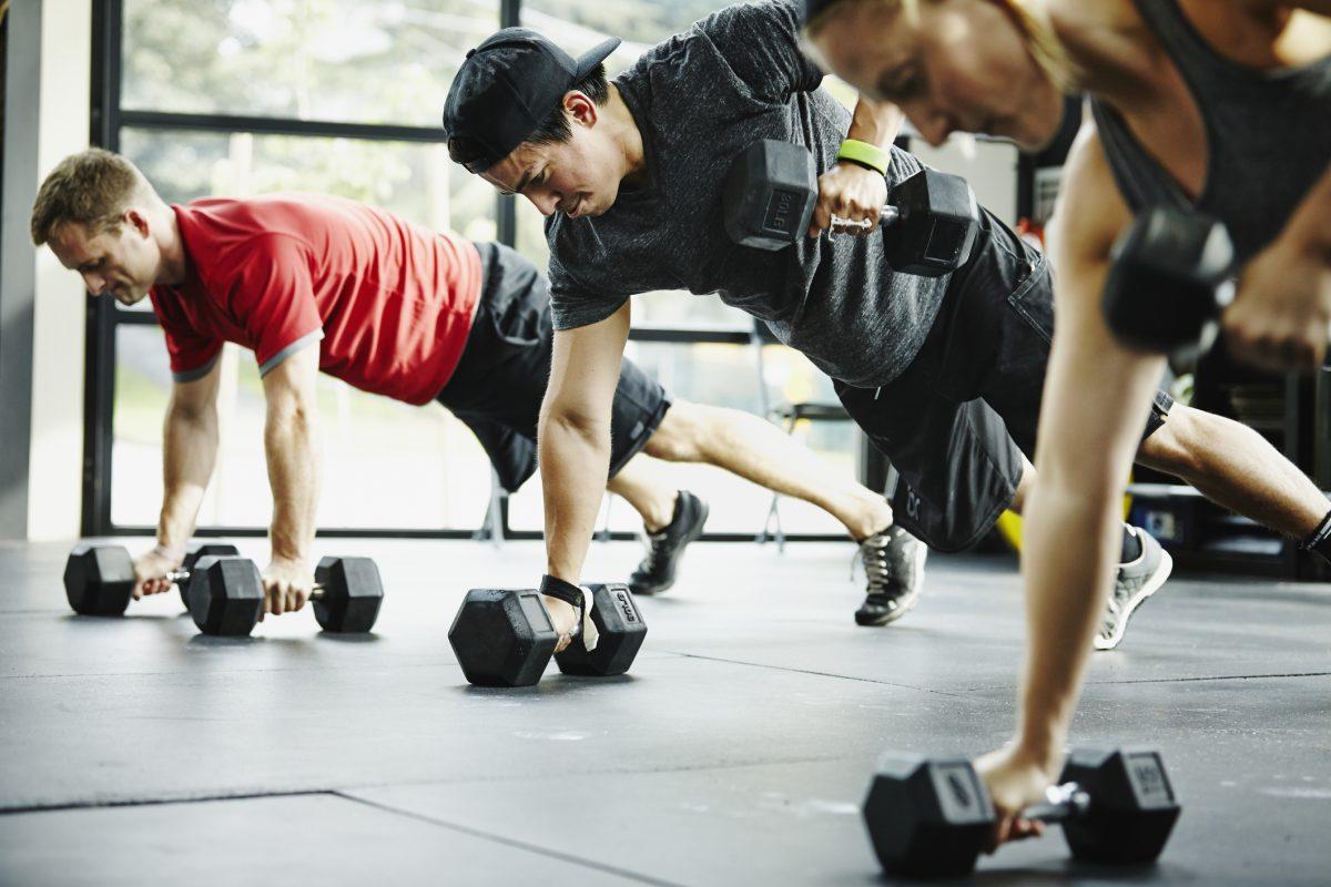 pushups intense workout