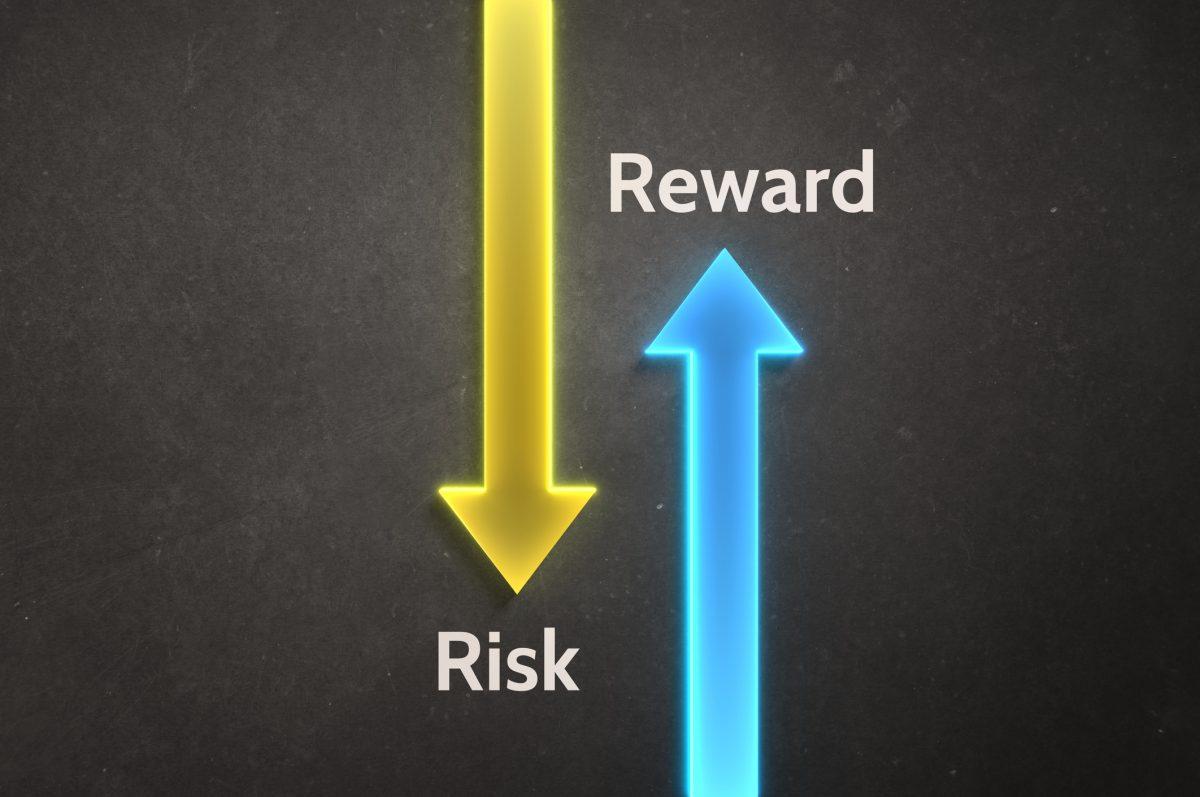 risk reward arrows