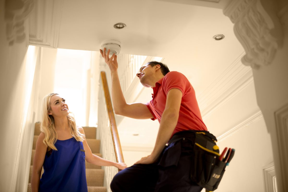 smoke detector installation