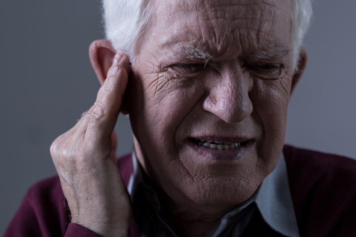 old man, looking confused