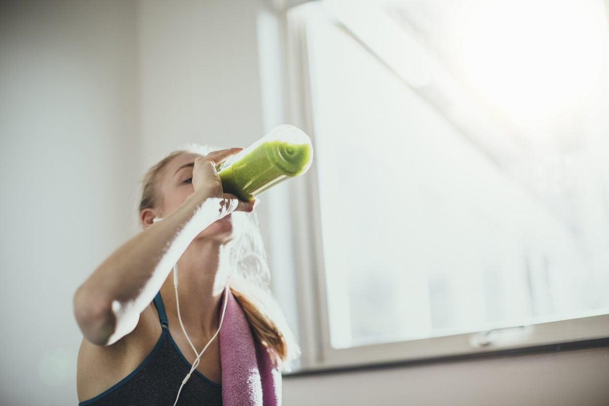 green juice diet exercise