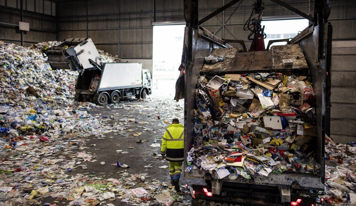 Waste disposal management maintenance