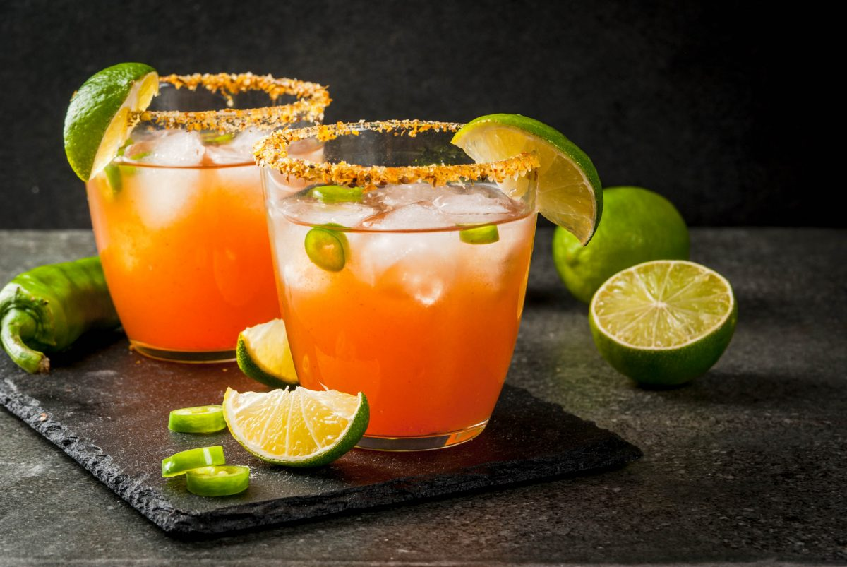Spicy and sweet margarita twist.