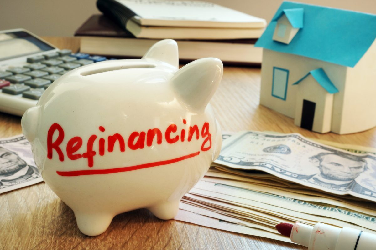 Mortgage debt refinancing