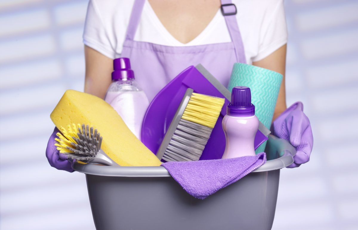 Home cleaner spring clean home