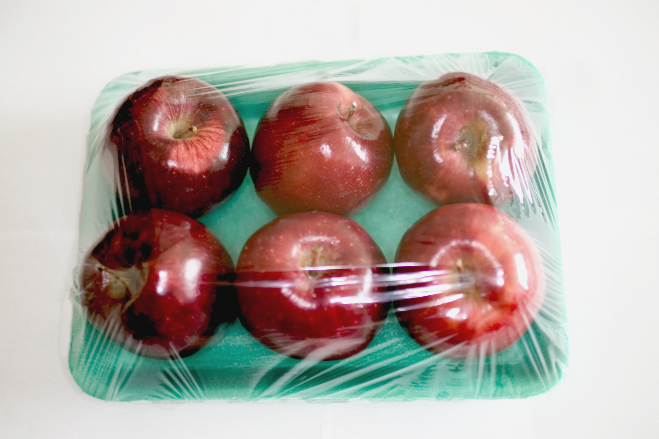 Cellophane Wrapped Apples