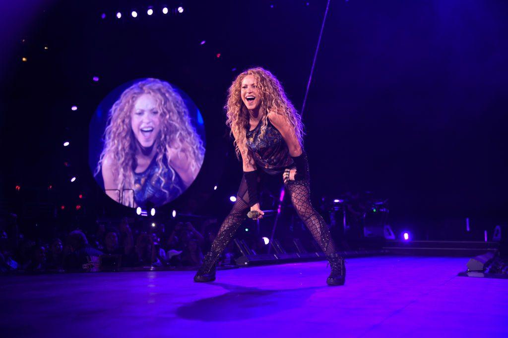 Shakira speaks six languages