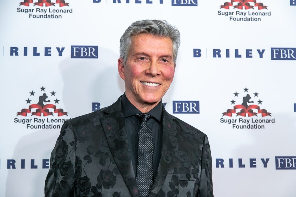 Michael Buffer at boxing charity