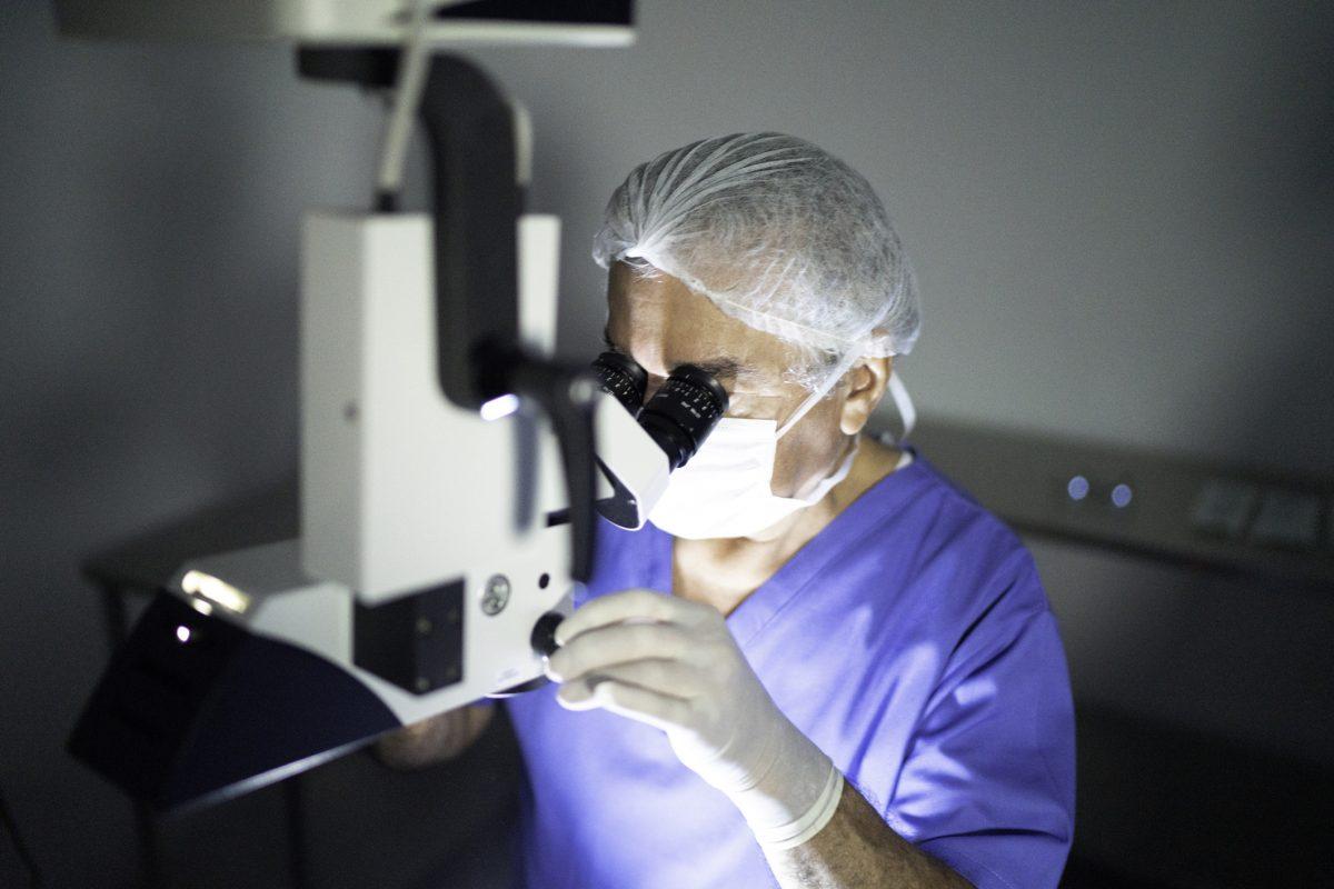 bowman layer transplantation middle layer