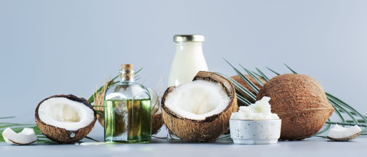 MCT saturated fats coconut oil