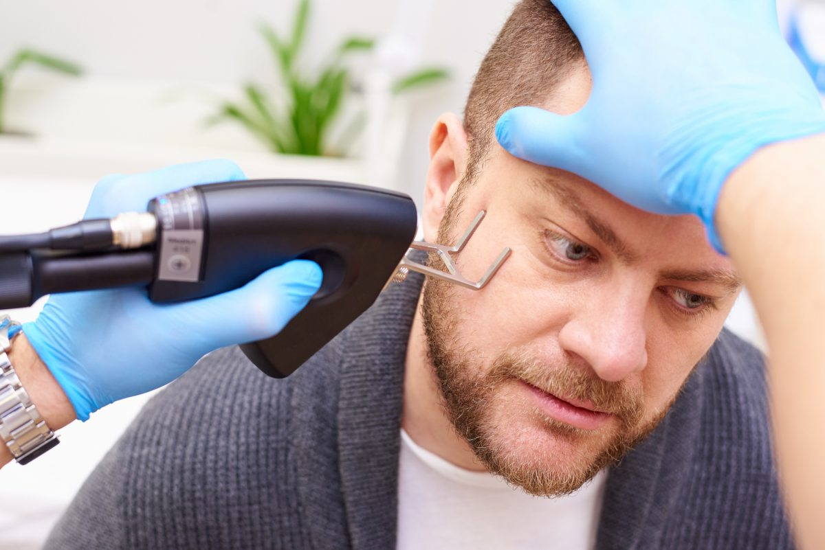 Non-invasive fractional laser therapy