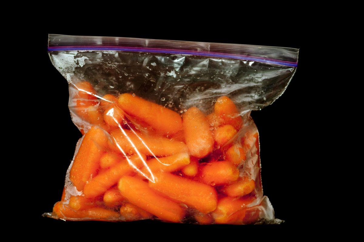 sandwich bag carrots seal