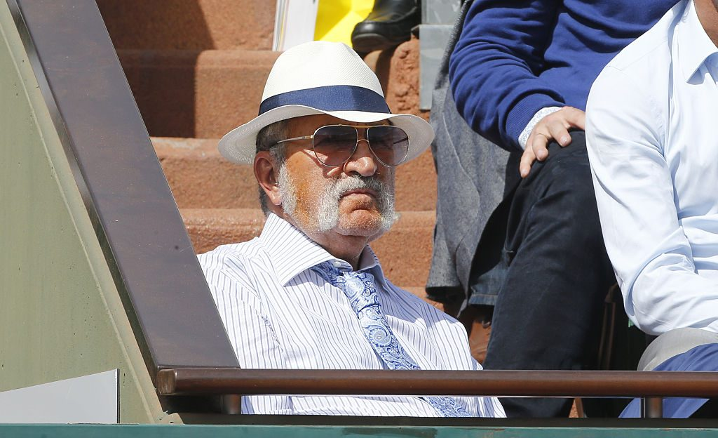 Ion Tiriac at French Open