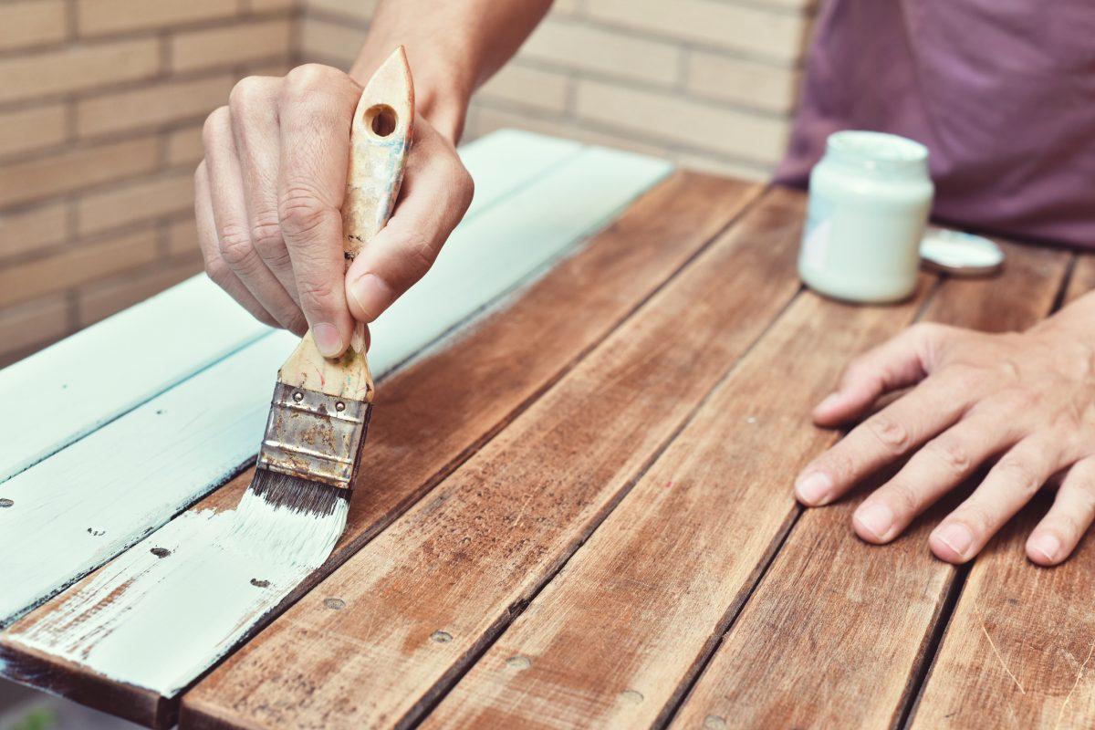 diy cart painting wood