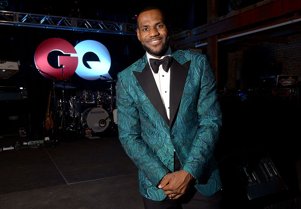 NBA player LeBron James attends GQ & LeBron James NBA All Star Party Sponsored By Samsung Galaxy And Beats at Ogden Museum's Patrick F. Taylor Library on February 15, 2014 in New Orleans, Louisiana.
