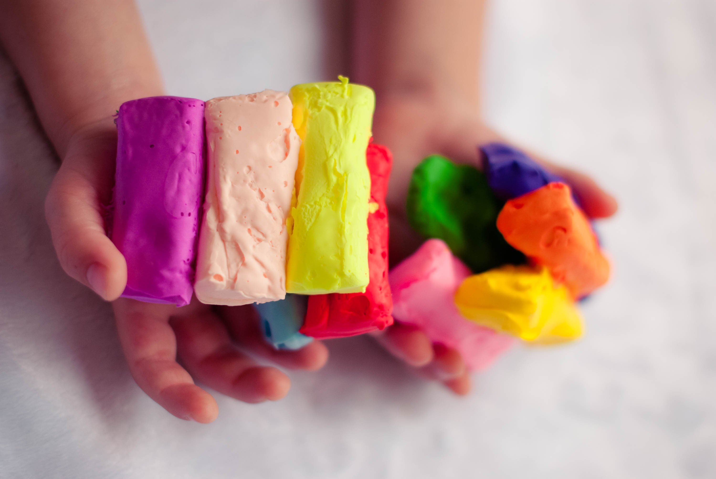 bright plasticine for children's creativity