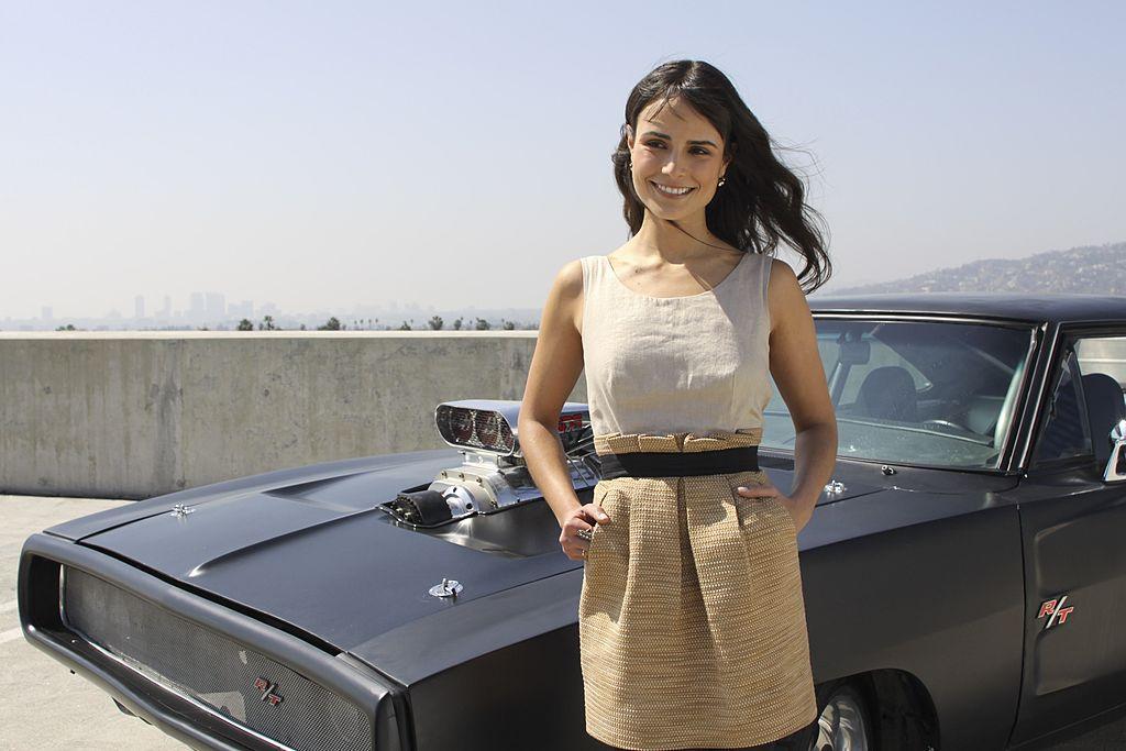 Jordana Brewster in Hollywood, California on March 13, 2009.