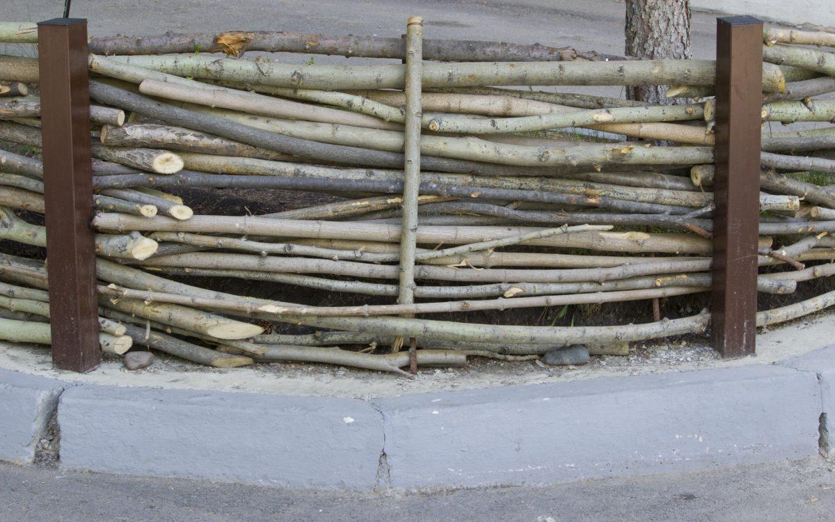 woven sticks twigs