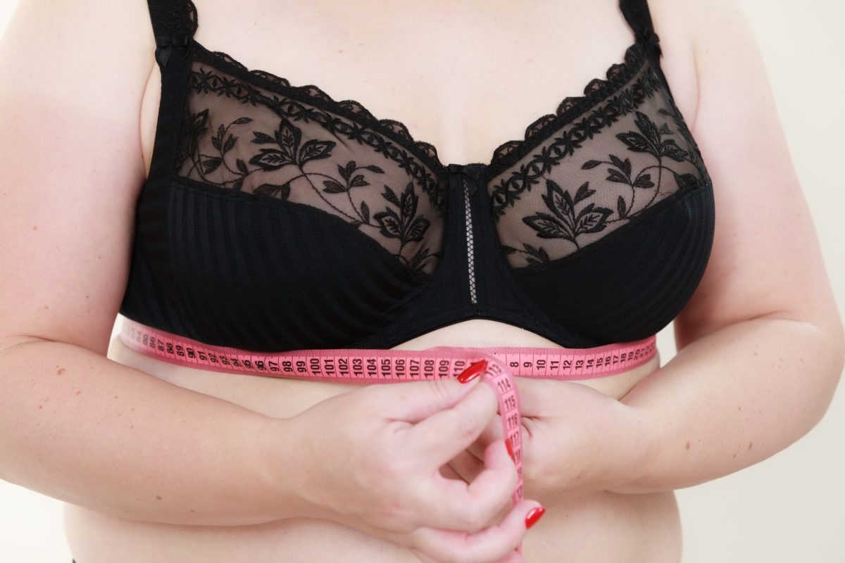 Measure your bra band first