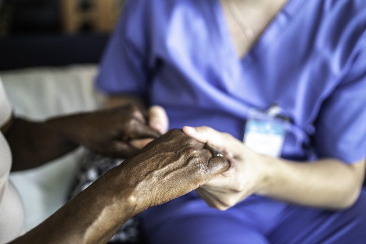 caregiver senior Parkinson's