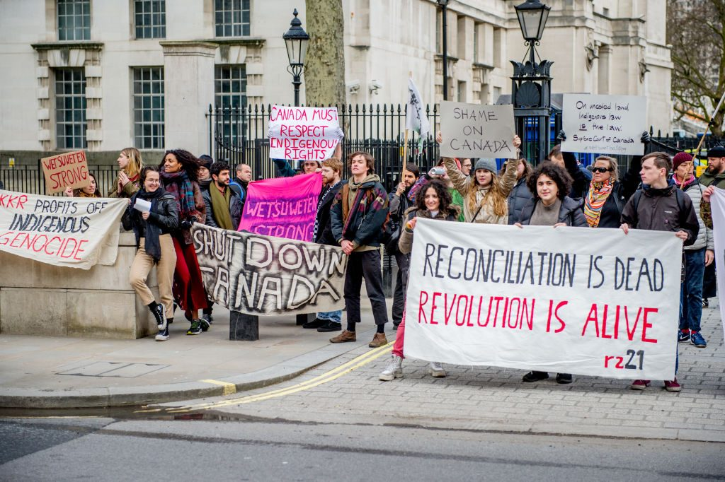 Indigenous rights protests