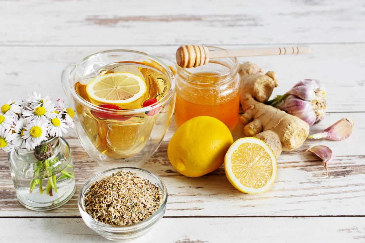 tea chamomile ginger