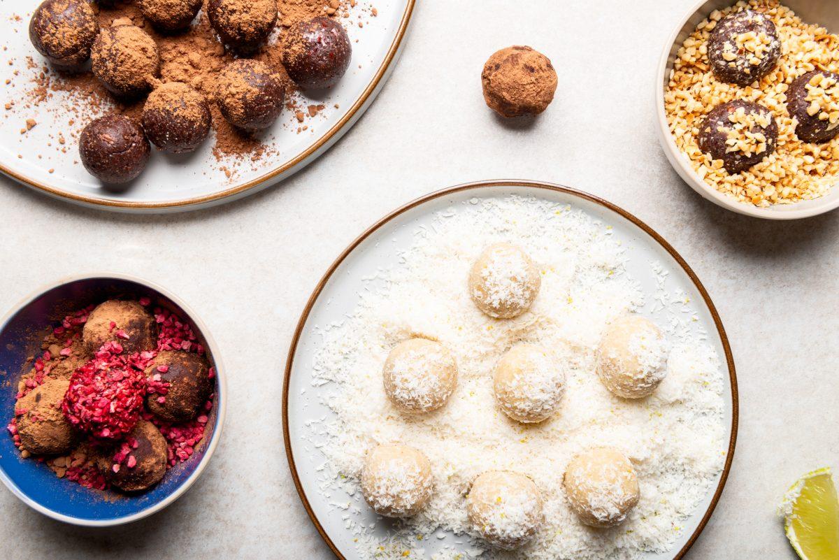 gluten free lemon cookies balls