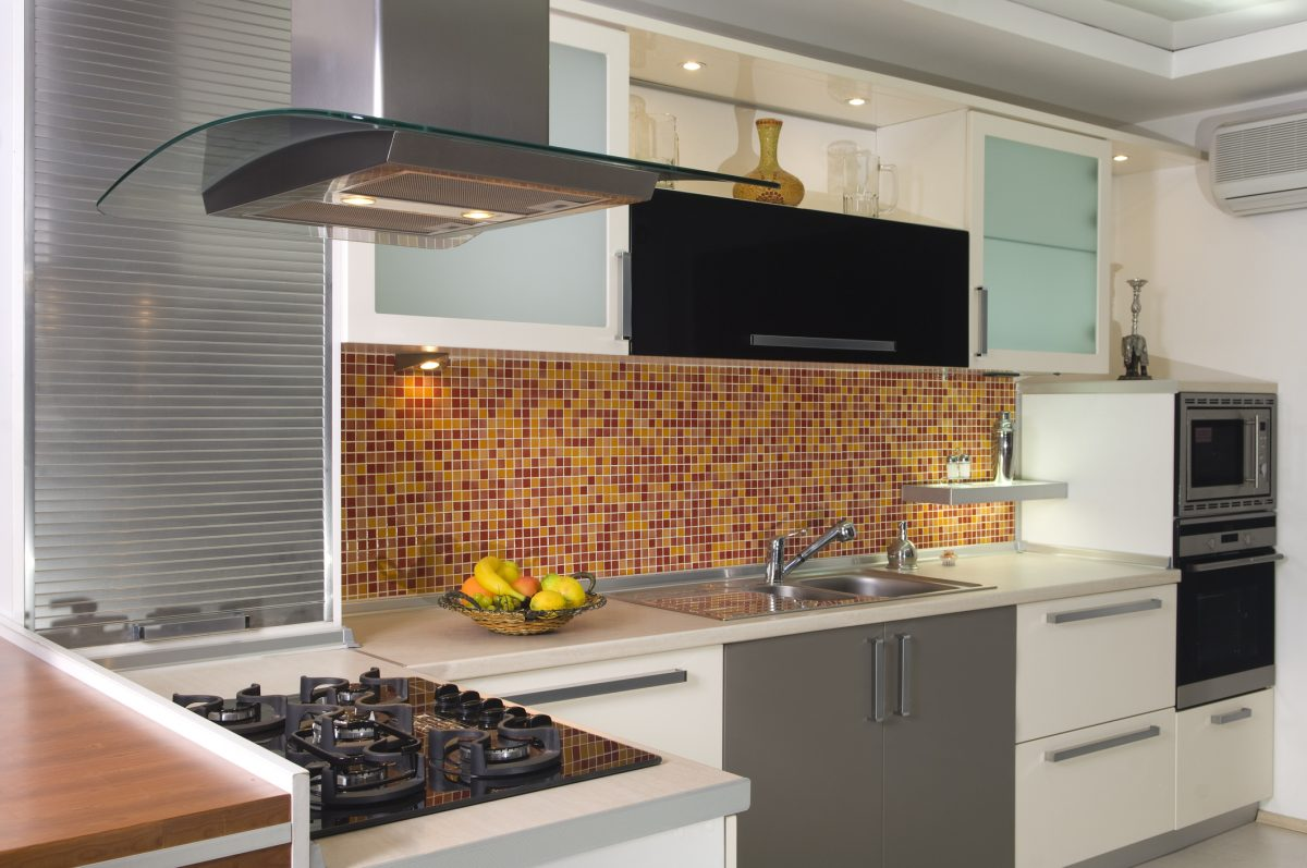 ceramic stone tile backsplash