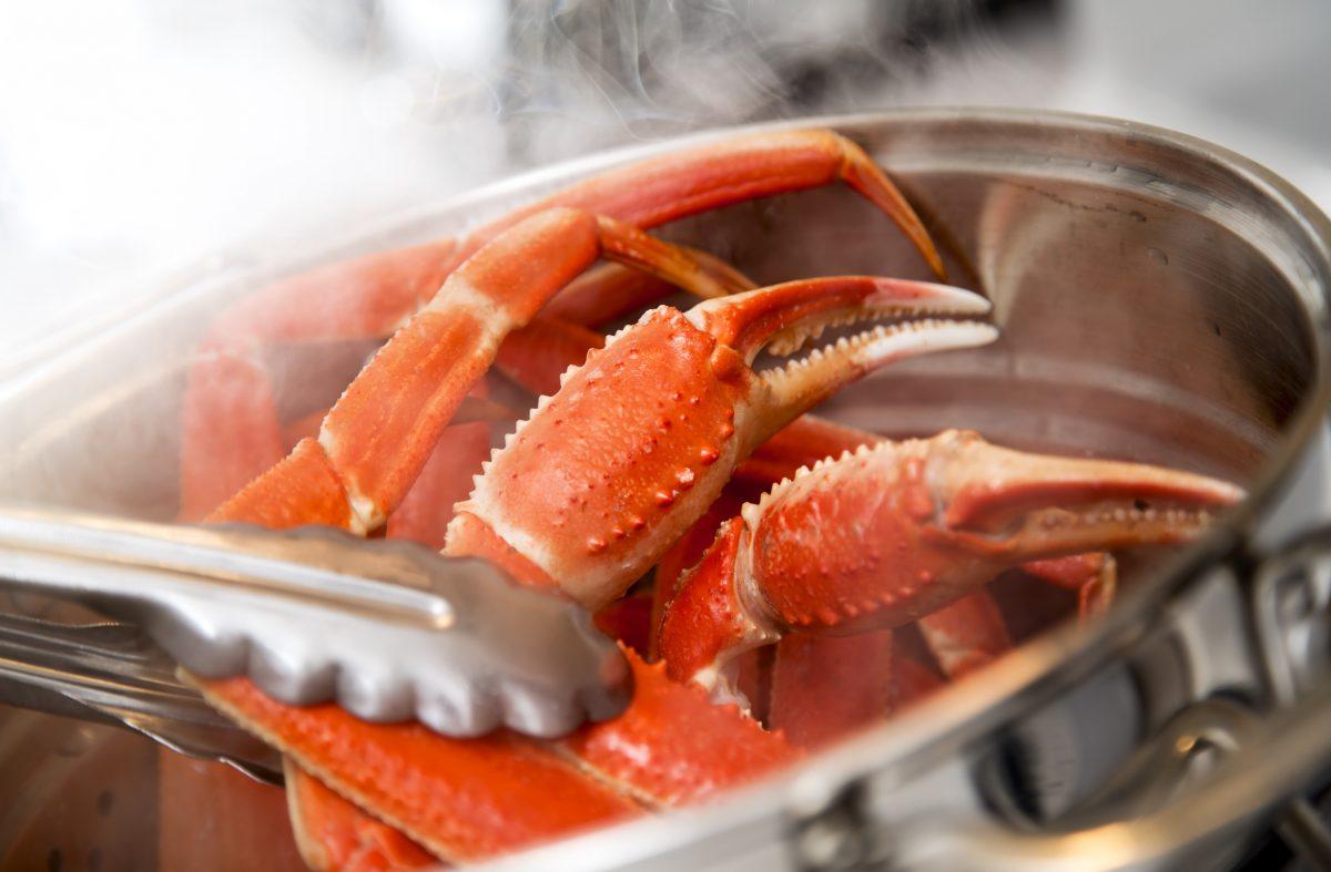 boil crab legs