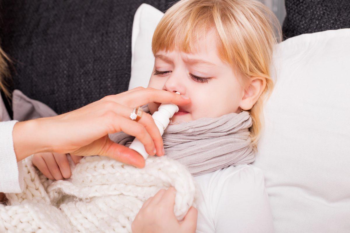 Nasal Spray Nose