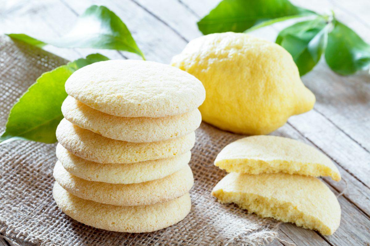 shortbread sandwich lemon cookies
