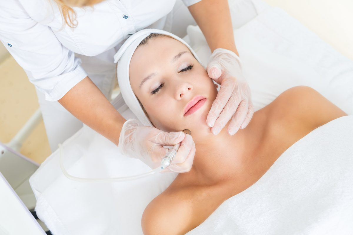 Microdermabrasion Skin treatment