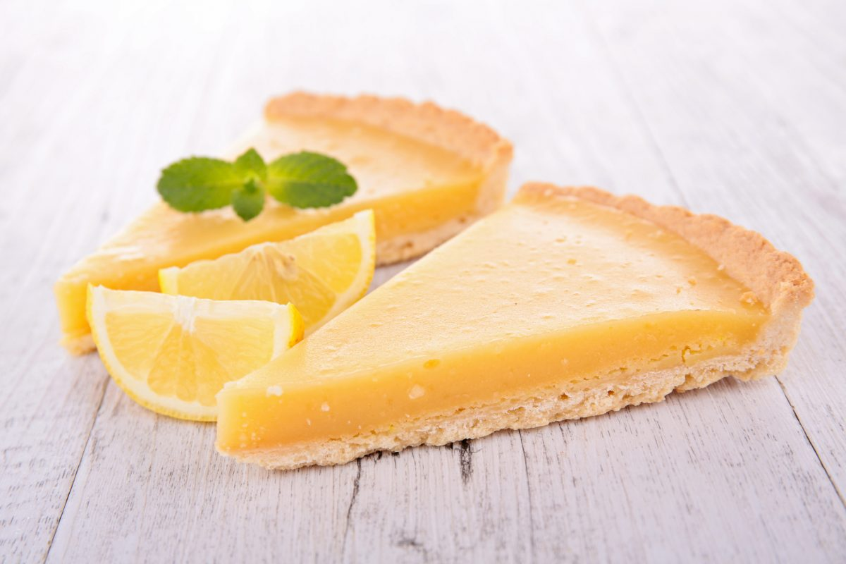 gooey lemon chess pie