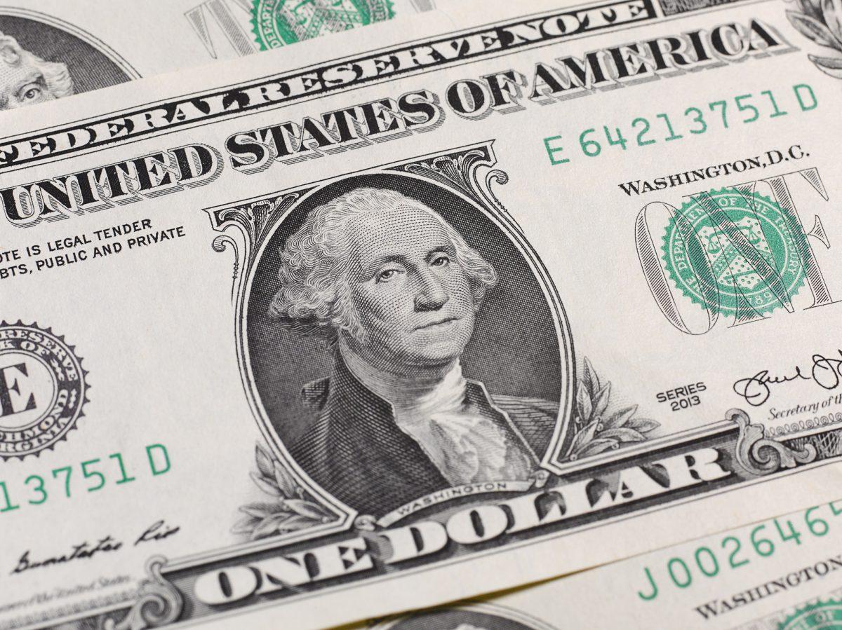 Fold a dollar bill