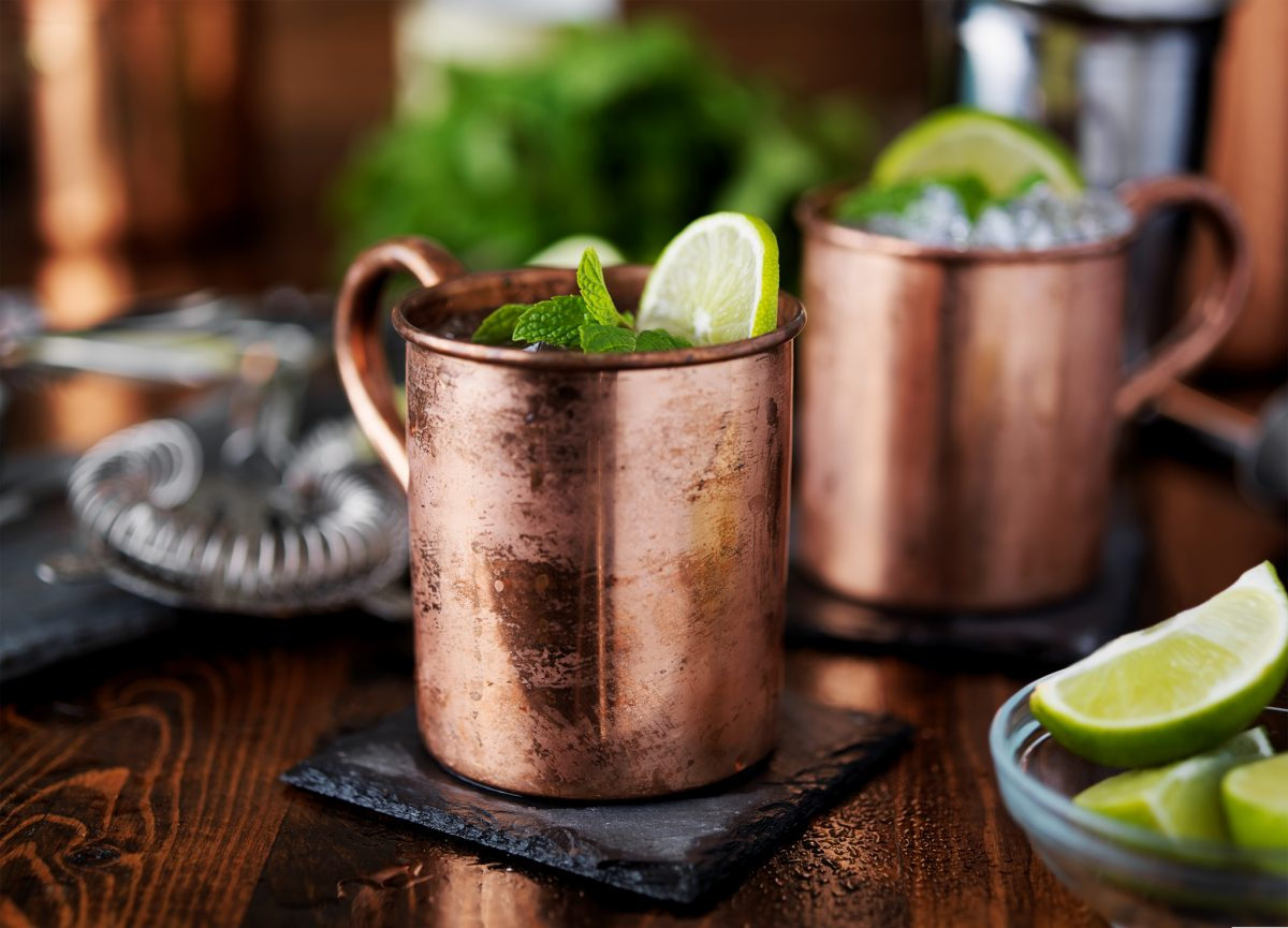 Moscow mules are in style